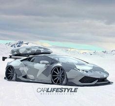 Lamborghini #camuflaje #EstiloMilitar