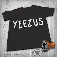 T-shirt - Yeezus - Fashion Trendy Hipster - Kanye West Inspired Tee - Music Hiphop Rap - Black & White Tshirt t shirt tee shirt