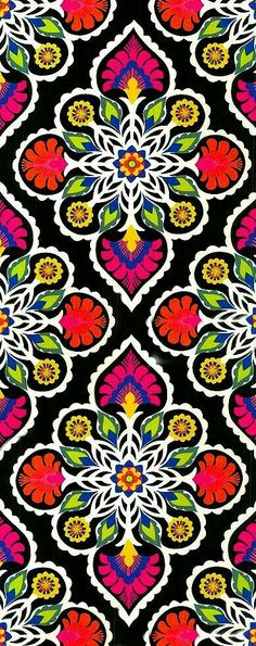 New Embroidery Mexican Pattern Colour 66 Ideas Textile Patterns, Print Patterns, Pattern Art, Pattern Design, Mexican Pattern, Arte Popular, Motif Floral, Mexican Folk Art, Digital Collage