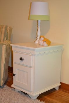 Nursery Side Table by Lake Country Cabinets & Trim - MN