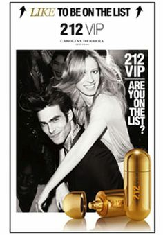 212 VIP perfume and aftershave. Hannah's favourite his and hers pair.