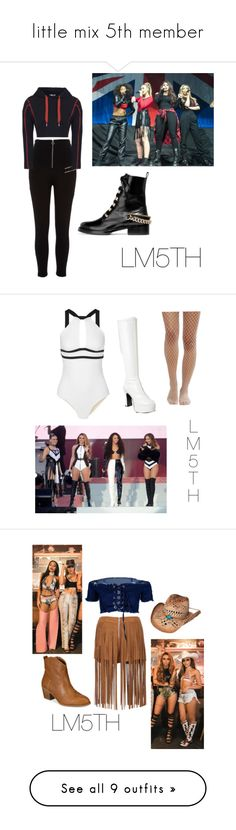 """""""little mix 5th member"""" by little-mix-are-babes ❤ liked on Polyvore featuring Lanvin, River Island, Funtasma, Ward Whillas, Gipsy, Style & Co., Sans Souci, WithChic, Boohoo and Calvin Klein Underwear"""
