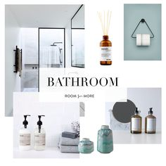 Bathroom moodboard. Inspiration: bathroom , nordic style , light interior. Find products at roomformore.dk