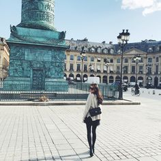 Outfit from Paris at Place Vendome. Parisian chic. http://mariannelle.com