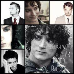 Elijah Wood as Frodo Baggins by Heather Sondreal