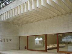 Nordic pavilion in Venice Biennale by Sverre Fehn