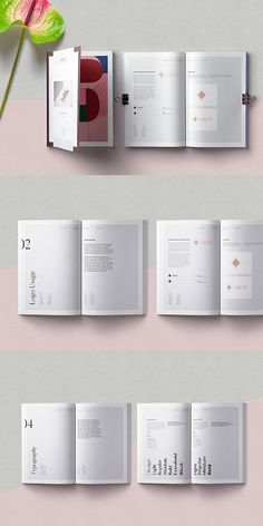 editorial layout About the Product Grete Brand Guidelines is fully editable Indesign template. Template is designed for modern, minimal and elegant brand guidelines in contemp Indesign Templates, Print Templates, Brochure Template, Brand Guidelines Template, Design Guidelines, Portfolio Design Layouts, Editorial Layout, Editorial Design, Portfolio Fotografia