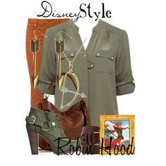 """Disney Style : Robin Hood"" by missm26 on Polyvore"
