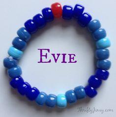 DIY Disney's Descendants Character Bracelets Craft - Thrifty Jinxy