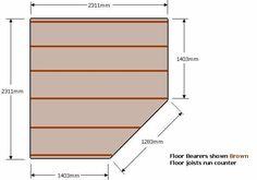 Get 5 corner shed plans its good 5 sided corner shed plans - sheds plans, 5 sided corner shed plans a storage shed pla. Cool Sheds, Big Sheds, Barns Sheds, 10x10 Shed Plans, Diy Shed Plans, Storage Shed Plans, Building A Shed Roof, Building A Storage Shed, Pool House Shed