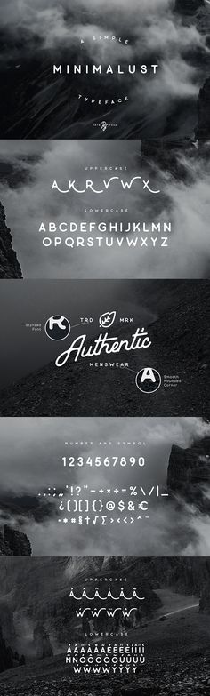 Minimalust is a clean and minimalist vintage sans serif font, with smooth edges rounded corner inspired from hand-drawn lettering and vintage printing.