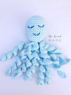 Para acalmar bebês prematuros, voluntários fazem polvos de crochê Crochet Fish, Crochet Octopus, Crochet For Kids, Diy Crochet, Crochet Toys, Crochet Baby, Crochet Sea Creatures, Crochet Ornaments, Baby Octopus