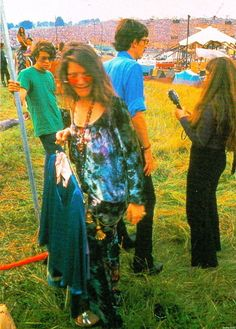 Janis Joplin at Woodstock