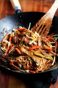 Stir!  ~ Healthy Singapore Noodles | The Official Website for Donal Skehan
