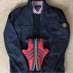 Away Days - adidas Jeans and Stone Island