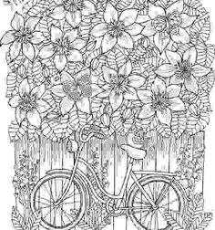 blomster mandala - livro de colorir - pronta entrega
