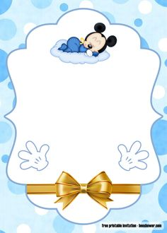 Baby Mickey Mouse Invitation Template Best Of Free Printable Mickey Mouse Baby S. - Baby Mickey Mouse Invitation Template Best Of Free Printable Mickey Mouse Baby Shower Invitations - Printable Baby Shower Invitations, Baby Invitations, Baby Shower Invitation Templates, Baby Shower Templates, Mickey Mouse Birthday Invitations, Mickey Mouse 1st Birthday, Baby Birthday, Mickey Mouse Baby Shower, Baby Mouse