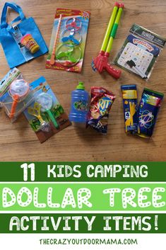 Check out this cheap kids camping activity basket to break boredom at camp! This kids camp activity basket has games, bingo, exploration and even snacks! Camping Toys, Tree Camping, Camping Games, Camping Crafts, Family Camping, Dollar Store Crafts, Dollar Stores, Camping Activities For Kids, Outdoor Activities