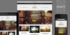 Buy Adapt, a Responsive WordPress Theme by DesignerThemes on ThemeForest. Adapt Responsive WordPress Theme Adapt is responsive theme designed to show off your articles and showcase your wo. Wordpress Template, Wordpress Plugins, Web Design, Layout Design, Portfolio Examples, Responsive Layout, Themes Free, Mini Fridge, Premium Wordpress Themes