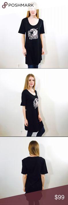 ANNA SUI UNICORN GRAPHIC PRINT TEE SHIRT DRESS Rare printed tee shirt dress by Anna SUI, NWT NO ISSUES. Anna Sui Dresses