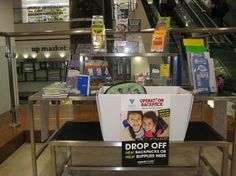 Duane Reade is an offical drop-off location for Operation Backpack. #DR100Broadway