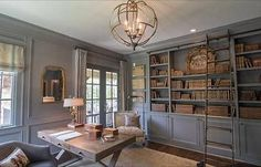 Suwanee GA Home - traditional - home office - atlanta - Schilling & Company%categories%Home Home Office Design, Home Office Decor, House Design, Home Decor, Office Ideas, Home Office Lighting, Office Designs, Office Furniture, Office Ceiling