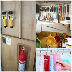 Rv Organization Accessories 10 Genius Ways To Organize Your Rv's Kitchen Space  Pinterest  Rv