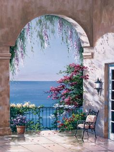 100 Artistic Acrylic Painting Ideas For Beginners - Gif Life Watercolor Landscape, Landscape Art, Landscape Paintings, Watercolor Paintings, Painting Art, Scenery Paintings, Seascape Paintings, Beautiful Paintings, Beautiful Landscapes