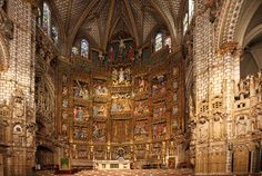 Primate Cathedral of Saint Mary of Toledo.