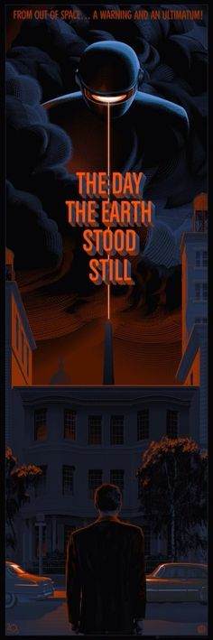 Laurent Durieux - Day the Earth Stood Still