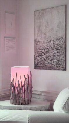 Modern Glam Home Decor Treibholzlampen und Objekte Elke Paus