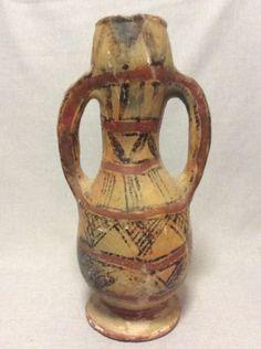 Ceramique-Berbere-Jarre-a-pied-XXe-Algerie-38-cm
