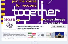Massachusetts Organization for Addiction Recovery supporter of Fed Up Rally
