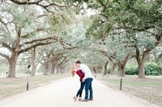 Charleston engagement session. Dani White photography