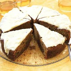 My all time favourite recipe for sweet carrot cake (recipe in Dutch); sometimes make it in a muffin tin and treat friends or colleagues. Always a hit!