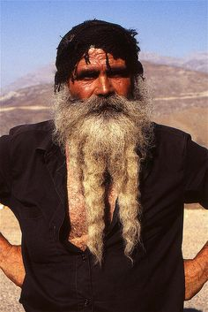 Man from Crete Island, Greece. Tribes Of The World, People Of The World, Zorba The Greek, Crete Island, Grey Beards, Dark Skin Tone, Athens Greece, Europe, Greek Islands