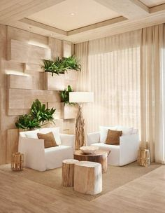While eco-hotels built with sustainable resources are a new trend in the U.S., the 1 Hotel South Beach takes the trend a step further by introducing great design and decor that that brings nature inside.