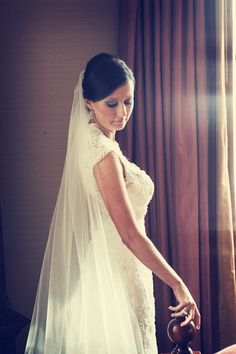 Beautiful long veil - My wedding ideas