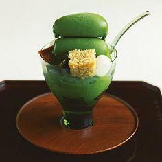 京都の一流料亭が供する濃厚パフェは 抹茶本来の香りと甘みを実感させる|目にも舌にも嬉しい 京都おやつ6選|CREA WEB(クレア ウェブ)