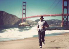61 Ways to Lose Weight Man enjoy jogging under Golden Gate. - Franckreporter/iStockphoto/Getty Images