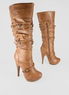 Cuffed Slouchy Boot