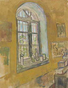 Vincent van Gogh, Window in the Studio, 1889