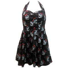 Hell Bunny Reckless Mini Dress | Gothic Clothing | Emo clothing | Alternative clothing | Punk clothing - Chaotic Clothing