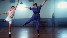 Jamie Bell and Julie Walters in Billy Elliot
