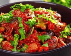 Curry D'aubergine, I Want To Eat, 20 Min, Vegetable Side Dishes, Food Inspiration, Love Food, Food To Make, Meal Prep, Vegan Recipes