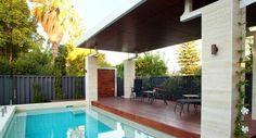 gazébo et abri soleil pour piscine par Phase Three