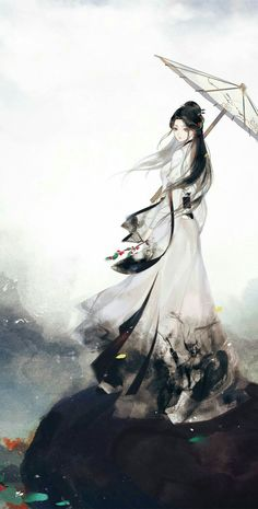 Chinese Art Girl Anime New Ideas Beautiful Fantasy Art, Beautiful Anime Girl, Japanese Drawings, Japanese Art, Anime Art Girl, Manga Art, Pandaren Monk, Geisha Art, Image Manga
