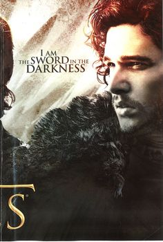 Game of Thrones I am the sword in the darkness