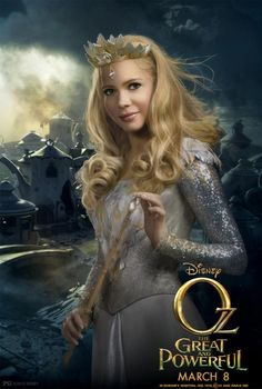 Oz the Great and Powerful Character Poster: Michelle Williams as Glinda the Good Witch