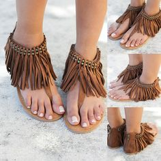 GASP!  Our super cute Solene sandals are now available in Tan! Shop at savedbythedress.com